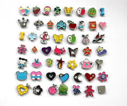 Wholesale 50pcs mm Mix Style Slide Charms DIY Accessieres Fit Pet Collar Wristband