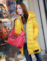 Wholesale Women cotton parka Winter Long Jacket Outerwear Overcoat trench coat outdoor coats trench coat
