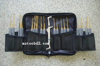 Wholesale 20 pieces pick lock tools Advanced Pieces Set Lock Picks locksmith tool