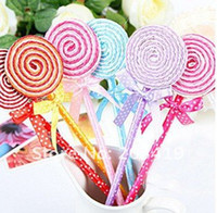 Wholesale New Arrivals Cute Lollipop Pen Ball point pen Office supplies Stationery