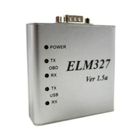 Wholesale ELM USB V1 A A A OBD2 ELM327 USB BUS Scanner OBD2 ELM327 USB OBD2 CAN BUS Aluminum Adapt