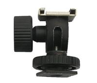 Wholesale Tilt Shoe Hot Shoe Holder Swivel Bounce Flash light stand Shoe adapter Ball Head bracket mount
