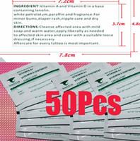 Wholesale 50pcs Quality Tattoo Recovery Cream Vitamin A Vitamin D Ointment Tattoo Supplies M