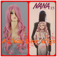 Wholesale curls every Sakamoto river Chui rock star Nana Li Women Fancy Anime Cosplay Party Hair Full Wig M112