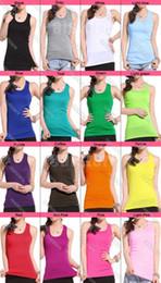 Wholesale 16pcs Girls Ladies Racerback Tank Tops Cami Mini Sleeveless Vest Waistcoat T Shirt ax2
