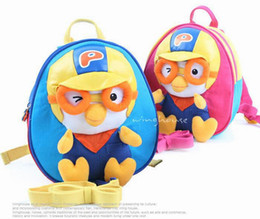 Wholesale Children s bag kids cartoon backpacks toddler pororo school bags kid school bags Backpack satchels