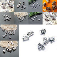 Wholesale Mixed Metal DIY Tibetan Silver Tone Jewelry Finding Accessories Charms Beads X Free EMS Shipping