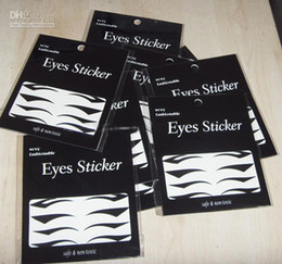 Wholesale DHL shipping Eyeliner Tattoo Sticker Temporary Tansfer Cat Wing Indian Arabic