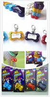 Wholesale LED dog pendant flash dog tag pet charms dog accessories drop shipping