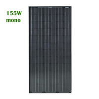 155W Monocrystal Silicon Solar Cell with CE and ROHS Certifi...