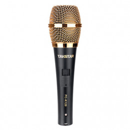 Hot selling Takstar PC-K120 Professional Microphones for Recording KTV On-sage performan PK free shipping