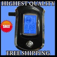 Wholesale New Police Digital Breath Alcohol Tester LCD Blow Breathalyzer Analyzer Analyser AT6000
