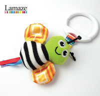 Wholesale Lamaze bees Crib toys with rattle teether Infant Early Development Toy stroller music toy