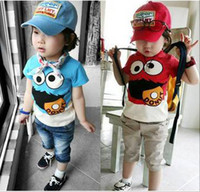 Wholesale Kids Clothing Children T Shirt Boy Girl Pure Cotton T shirts Kid Summer Clothing Children apparel