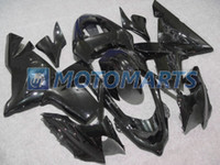 Wholesale gloss black bodywork kit FOR Kawasaki ninja ZX R ZX10R ZX R fairing set amp gifts