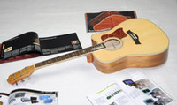 Wholesale best Newest Chinese HOT custom shop Acoustic Guitar wtih fishman in stick