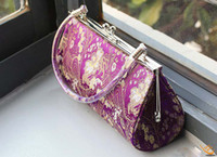 Wholesale Makeup bags process purse Chinese amorous feelings brocade embroider wallet Fashion