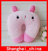 Wholesale Embroidery Neck Support Pillow Character Neck Guard Rug Infant Pillows Plush Toy