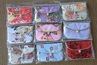 Wallets brocade fabric - Chinese amorous feelings Silk fabrics brocade embroider Zero purse card bag