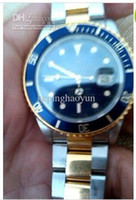 Wholesale AAAA Men s Luxury BLUE REF Watch Perpetual men Stainless Steel Automatic Wristwatch