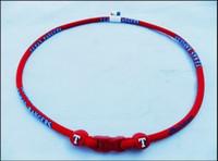 texas rangers - Texas Rangers Titanium Sports Necklaces