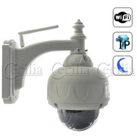 Wholesale Wanscam Waterproof Night vision Wireless IP Security Camera DVR PTZ Control Auto Iris Lens W