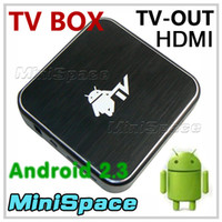 Wholesale Android TV Box WIFI P HDMI Output GHz GB Flash Cortex A8 Android TV Set Top Box TV Receiver