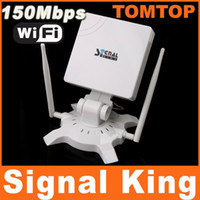Wholesale High Power Signal King SignalKing DBI USB wifi Wireless Adaptor Network Card Antenna Mbps C1360