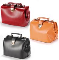 Wholesale BIG size Europe Retro Handbags DOCTOR BAG Soulder Briefcase Handbag Crossbody bag Tote
