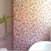 Wholesale Wall sticks ceramic tile sticker high temperature resistant waterproof bathroom renovation stick