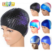 Wholesale Swim Cap Swimming Hat Cap SiliconeMulti Colors Outdoor Sports Stuff EB9201