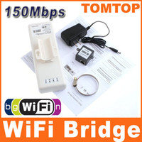 Wholesale High Power Outdoor Mbps B G N KM Wireless wifi Bridge with Panel Antenna C1422