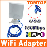 Wholesale Outdoor Mbps USB Ultri thin Wireless Adapter WiFi WLAN CMCC Db High Gain M Cable C1429