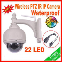 Wholesale Wireless Speed Dome Outdoor IP PTZ Camera Pan Tilt Zoom Wireless IR Waterproof