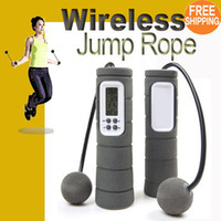 Wholesale NEW Wireless Ropeless Diet Jump Jumping Rope Skipping Calorie Counter Exercise