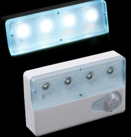 Wholesale H8010 Infrared PIR Auto LED Sensor Light Motion Detector Lamp Dual window Infrared Sensors LED Bulbs