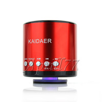 Wholesale New Kaidaer KD MN02BT wireless bluetooth speaker with FM mini USB TF Slot for iphone Ipad PC Tablet