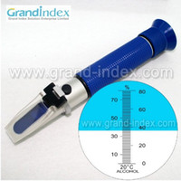 Wholesale traditional alcohol amp grape Wine Oe Refractometer RHW ATC Blue Rubber