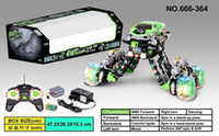 Wholesale The latest RC car functional robot stunt space car paddle remote control stunt car toy