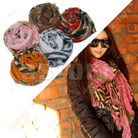 Wholesale 10 Fashion Zebra and Leopard Soft Large Long Scarf Shawl Wrap Stole