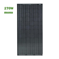 Solar Panel 270 Watt 12 volt MonoCrystaline Cells