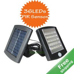 Солнечная PIR датчик света + 36 Яркие светодиодные лампы + PIR датчик в комплекте + обновление панели солнечных батарей + бесплатная доставка от Поставщики солнечная панель бесплатная доставка