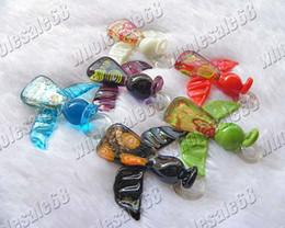 fashion jewellery 18pcs lots charm angel animal Lampwork Italian handmade Wholesale murano glass pendants Fit Necklaces