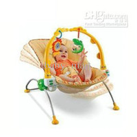 Wholesale Baby rocking chair baby bouncer with toy bar Music n vibration chair Rockin Baby Game