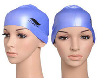 Wholesale Fashion Durable Sporty Silicone Swim Cap Swimming Hat