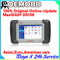 Wholesale Genuine Autel MaxiDas DS708 Integreted Diagnostic Scanner For US European Asian Cars Online Upgrade