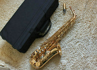 Wholesale NEW Gold Alto Saxophone YA Very beautiful Free gifts reeds