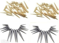 Wholesale 1800PCS mix MM MM MM gold silver black basketball wife earrings accessories peak beads