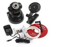 Wholesale DHL Free Wireless IP Camera webcam Web CCTV Camera Wifi Network IR NightVision P T AB1185