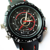Wholesale 5PCS GB Waterproof SPY DVR mini DV Camera Recorder Watch _Build in G